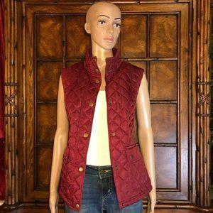 Jones New York Diamond Puffer Vest